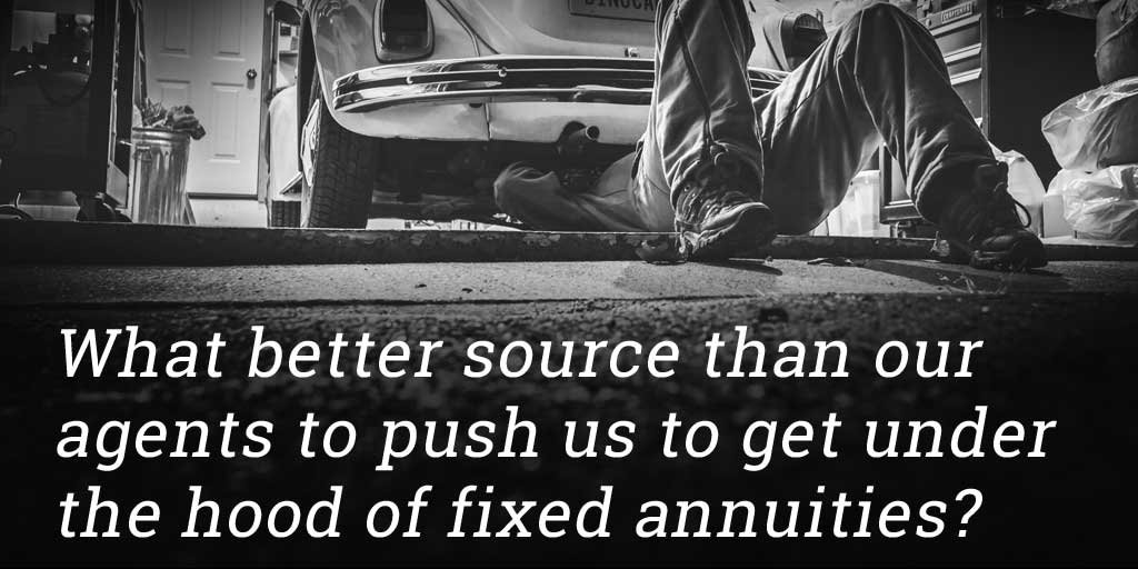 Digging under hood of fixed annuities