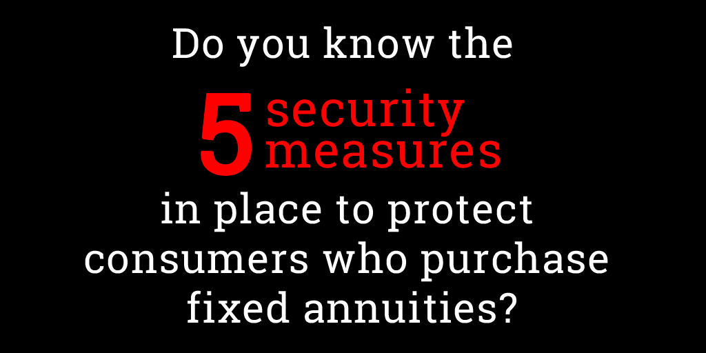 Fixed annuities full of security protection