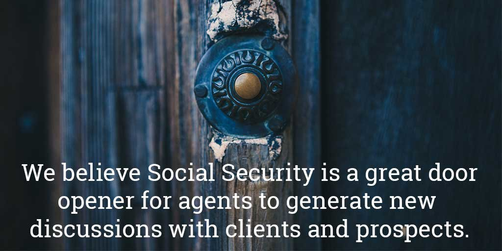 Social Security insight a door opener for new business