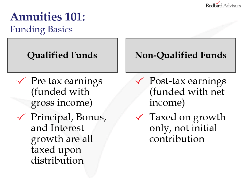 difference between qualified and non qualified funds