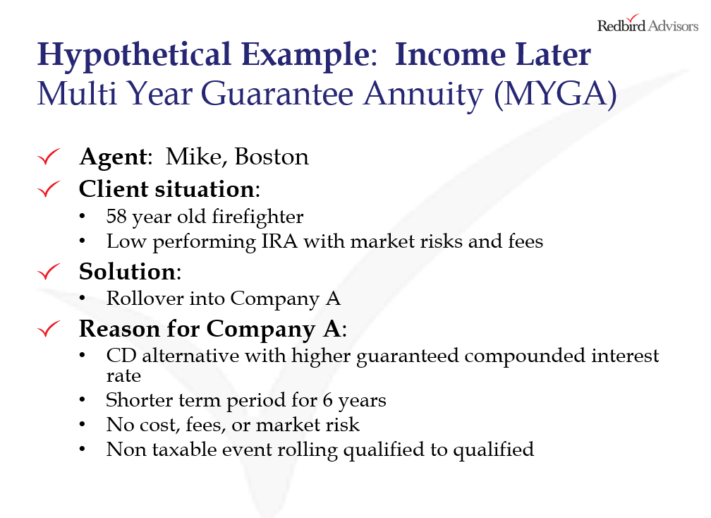 How to Sell MYGA Annuities