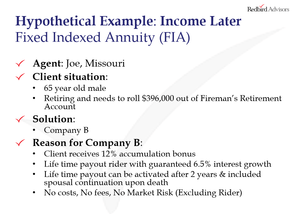 How to sell FIA annuities