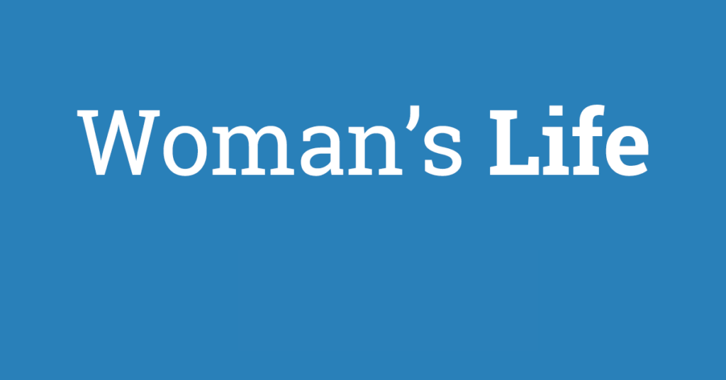 Woman's Life Agent Contracting